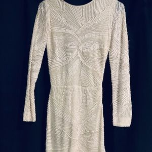 Great dress for prom or homecoming. White mini